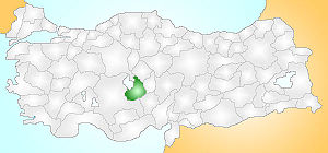 Aksaray Turkey Provinces locator.jpg
