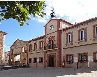 Alénya - The town hall in Alénya
