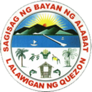 Alabat, Quezon - Image: Alabat, Quezon Official Seal