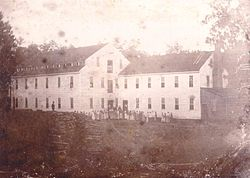 Alamance Cotton Mill Edwin M Holt photograph 1837