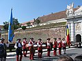 Alba Carolina Fortress 2011 - Changing the Guard At The Third Gate.jpg