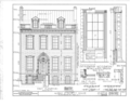 Albert Cluett House, 59 Second Street, Troy, Rensselaer County, NY HABS NY,42-TROY,1- (sheet 2 of 7).png