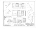 Albert Van Voorhis House, Maple and Franklin Avenues, Wyckoff, Bergen County, NJ HABS NJ,2-WYCK,1- (sheet 11 of 18).png
