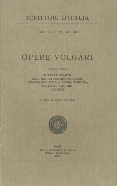 File:Alberti, Leon Battista – Opere volgari, Vol. III, 1973 – BEIC 1724974.pdf