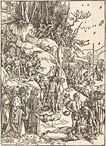 Albrecht Dürer, The Martyrdom of the Ten Thousand, c. 1496-1497, NGA 6681.jpg