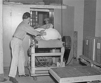 Alcatraz Federal Penitentiary - Alcatraz laundry service