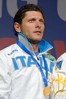 Aldo Montano (fencer born 1978) Italian fencer