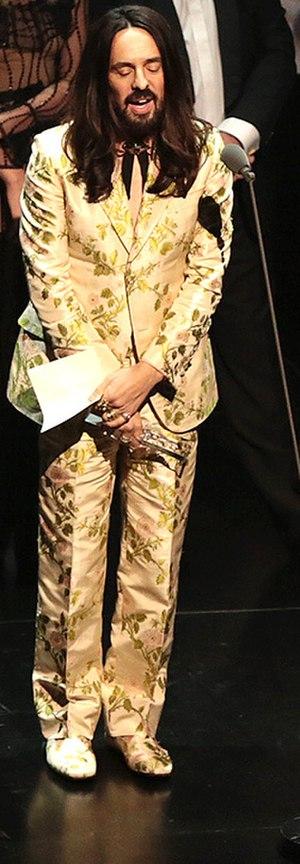 Alessandro Michele - Alessandro Michele wearing Gucci