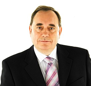 First Salmond government Scottish Government from 2007 to 2011