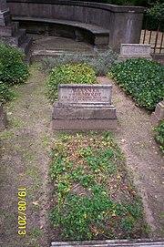 Alexander von Humboldt grave
