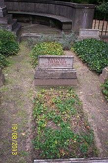 Grab von Alexander von Humboldt im Park des Schlosses Tegel in Berlin (Quelle: Wikimedia)