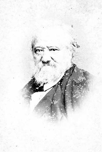 Alexandre-Marie Colin - Photograph of Colin at a later age