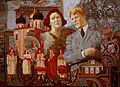Alexey Akindinov. Esenin and Isadora. 2010.jpg