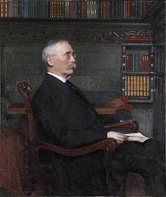 Alf Collett - Painting of Alf Collett by Asta Nørregaard from 1915