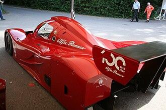 Alfa Romeo SE 048SP - The Alfa Romeo SE 048SP, as it appeared at the 2010 Goodwood Festival of Speed.