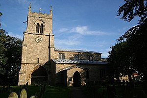 Nettleham - Image: All Saints' church, Nettleham, Lincs. geograph.org.uk 68601