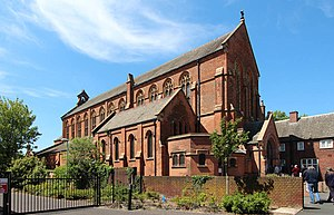 Grade II* listed buildings in the West Midlands - Image: All Saints, Small Heath (geograph 4016316)