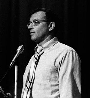 Allard K. Lowenstein - Allard Lowenstein at congressional race fundraiser, August 29, 1976