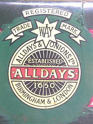 Alldays & Onions - Image: Alldays & Onionslogo