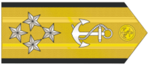 Military ranks of Brazil - Image: Almirantede Esquadra MB