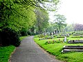 Almondbury Cemetery, Nr Huddersfield - geograph.org.uk - 167734.jpg