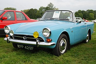 Sunbeam Alpine - Image: Alpine (6068708041)