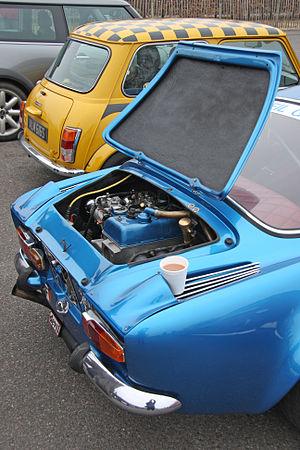 Renault Cléon-Alu engine - Image: Alpine Renault A110 'Berlinette' Flickr exfordy