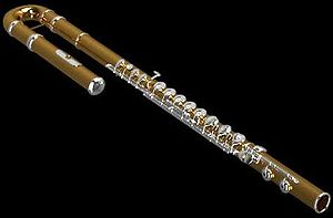 Members of the western concert flute family - The alto flute.