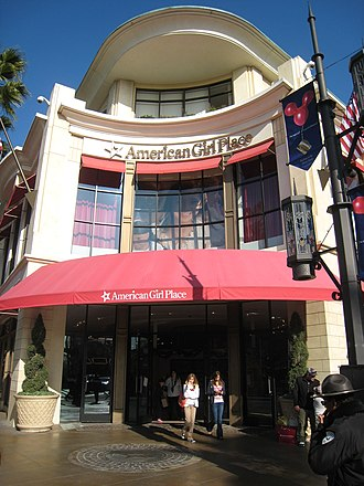 American Girl - American Girl Place in The Grove at Farmers Market in Los Angeles, California