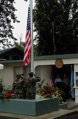 American Embassy in Kolonia