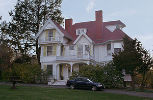 National Register of Historic Places listings in Newton, Massachusetts - Image: Amos Adams House, Newton, Massachusetts