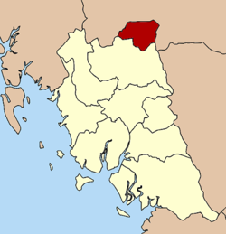 Amphoe location in Trang Province