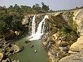 Amritdhara Waterfall on Hasdeo River in Koriya Distt, Chhattisgarh - panoramio.jpg