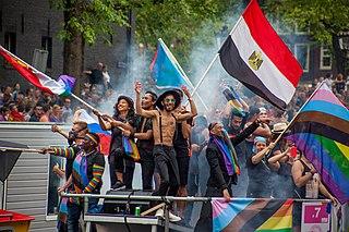 Amsterdam Gay Pride Annual LGBT event in Amsterdam