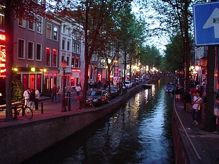 The red-light district in Amsterdam Amsterdam red light district 24-7-2003.JPG