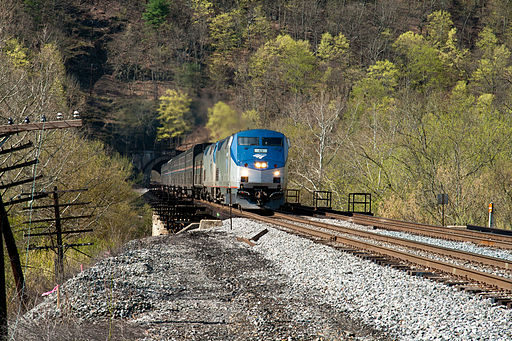 Amtrak 30 on the Magnolia Cutoff