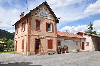 Barrême - The old Lavender distillery