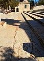 Ancient Stones Embedded in Pavement, Temple Mount, Jerusalem, אבנים עתיקות משולבות בריצוף, הר הבית, ירושלים - panoramio.jpg