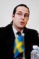 Anders Borg, finansminister Sverige under sessionen i Kopenhamn 2006.jpg