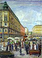 Anders Svarstad - Youngstorget - 1927 - Oslo Museum - OB.11032.jpg