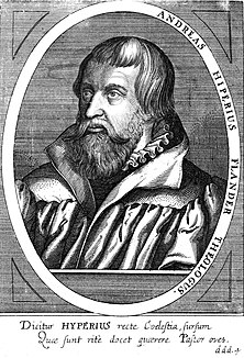 Andreas Hyperius Flemish theologian