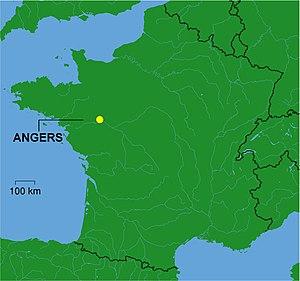 Communauté urbaine Angers Loire Métropole - Image: Angers dot