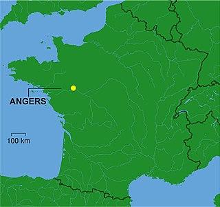 Communauté urbaine Angers Loire Métropole Place in Pays de la Loire, France