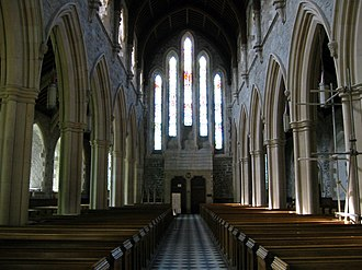 Architecture of St. John's, Newfoundland and Labrador - Nave of the Cathedral of St. John the Baptist