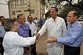 Anil Shrikrishna Manekar Shakes Hands with Manish Gupta - MSE Golden Jubilee Celebration - Science City - Kolkata 2015-11-17 4907.JPG