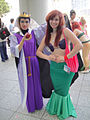 Anime Expo 2010 - LA - Evil Queen and Ariel (4837245136).jpg