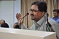 Animesh Kumar Saha Speaks - Ganga Singh Rautela Retirement Function - NCSM - Kolkata 2016-02-29 1558.JPG