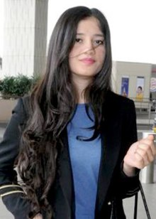 Anmol Malik at the airport in 2018.jpg
