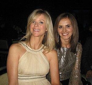 English: Anna Wallner and Kristina Matisic at ...