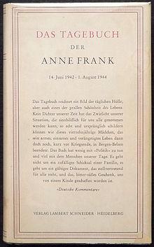 S Daagebuech Vo Dr Anne Frank Wikiwand